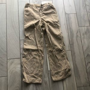 Gymboree boys tan corduroy pants size 10